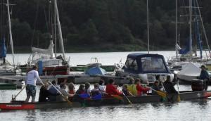 Drachenbootfahrt Sommerfest 2010